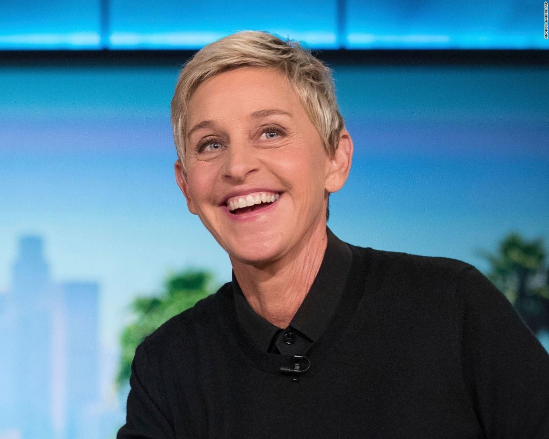 Ellen DeGeneres stated about ' power of TV 'at the Golden Globe Awards