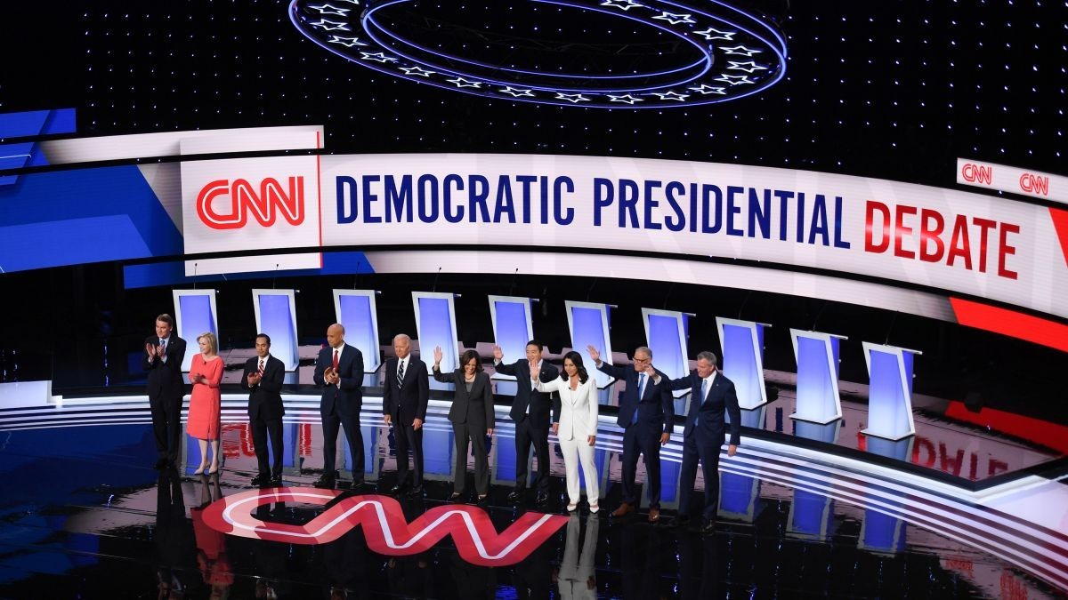CNN Sets Moderators For Next Democratic Presidential Controversy