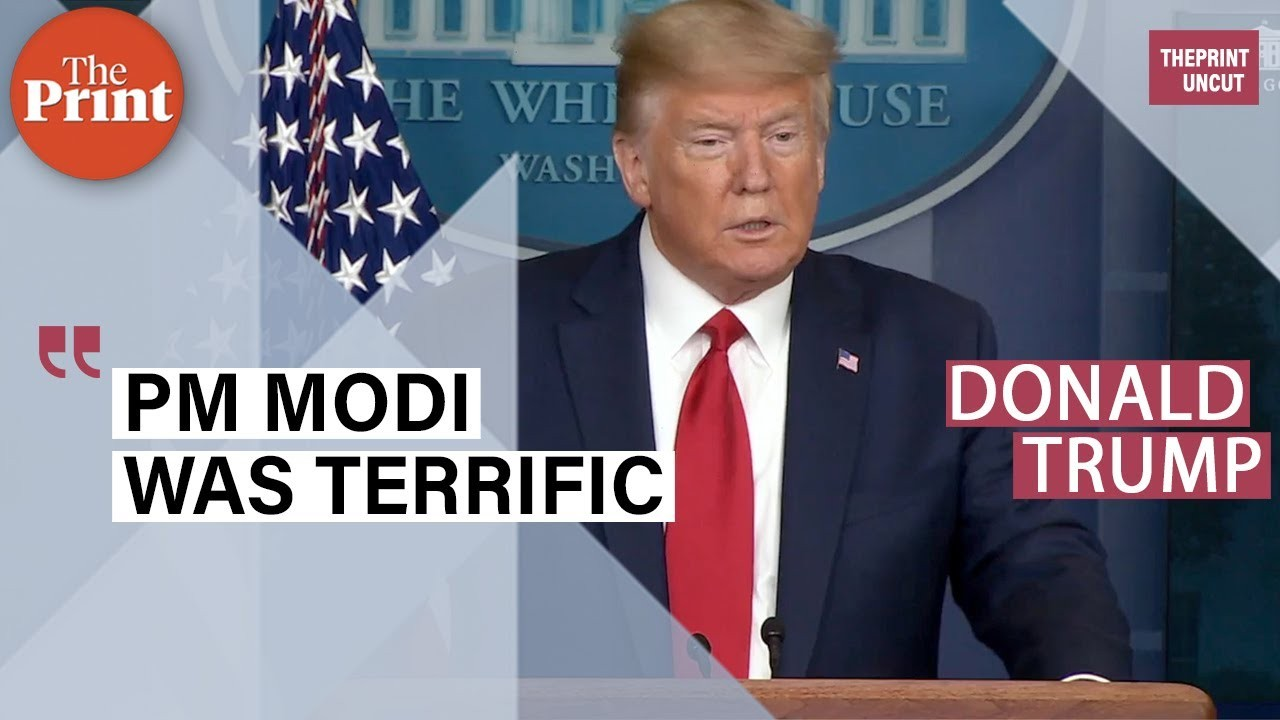PM Modi was terrific, will remember it: Trump thanks India for supplying HCQ